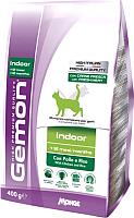 Корм для кошек Gemon Indoor Chicken&Rice (0.4кг) -