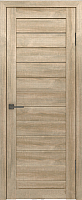 Дверь межкомнатная Лайт 6 60x200 (дуб мокко) -