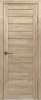 Дверь межкомнатная Лайт 6 70x200 (дуб мокко) -