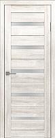 Дверь межкомнатная Лайт 7 60x200 (латте/стекло белый сатинат) -