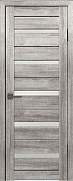 Дверь межкомнатная Лайт 7 70x200 (муссон/стекло белый сатинат) -