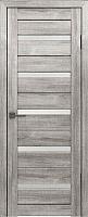 Дверь межкомнатная Лайт 7 80x200 (муссон/стекло белый сатинат) -