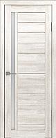 Дверь межкомнатная Лайт 9 80x200 (латте/стекло белый сатинат) -