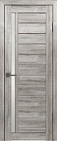 Дверь межкомнатная Лайт 9 60x200 (муссон/стекло белый сатинат) -
