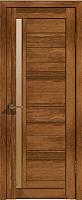 Дверь межкомнатная Лайт 9 80x200 (корица/стекло бронза сатинат) -