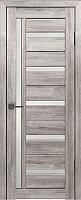 Дверь межкомнатная Лайт 18 60x200 (муссон/стекло белый сатинат) -