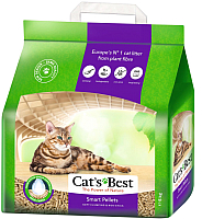 Наполнитель для туалета Cat's Best Smart Pellets (10л) -