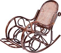 Кресло-качалка Мир Ротанга 05/10B (шоколад) -