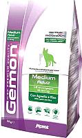 Корм для собак Gemon Adult Medium Lamb&Rice (3кг) -