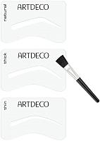 Набор для оформления бровей Artdeco Eyebrow Stencils With Brush 28200 -