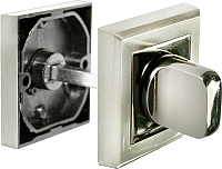 Фиксатор дверной защелки Morelli MH-WC-S SN/BN -