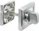 Фиксатор дверной защелки Morelli MH-WC-S SC/CP -