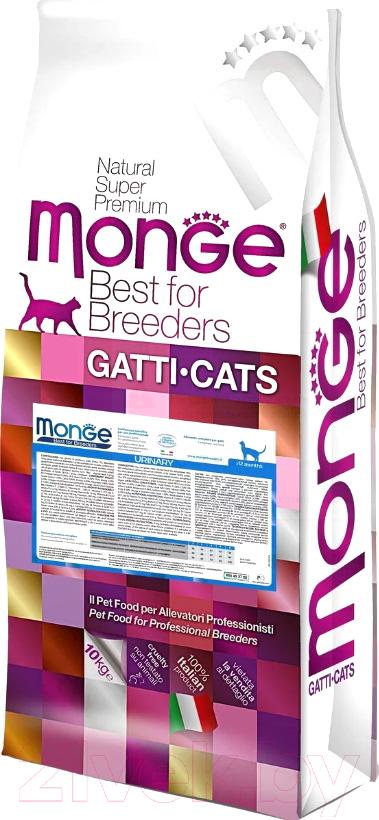 Купить Корм для кошек Monge, Functional Line Urinary Rich in Chicken (10кг), Италия