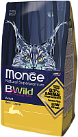 Корм для кошек Monge Bwild Adult Hare (1.5кг) -