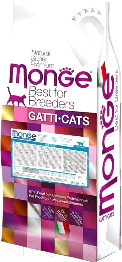 Купить Корм для кошек Monge, Daily Line Kitten Rich in Chicken (10кг), Италия
