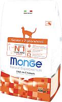 Корм для кошек Monge Daily Line Senior Rich in Chicken (400г) -