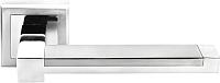 Ручка дверная Morelli Sanibel DIY MH-39 SC/CP-S -