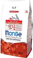 Корм для собак Monge Speciality Mini Puppy&Junior Lamb&Rice (0.8кг) -