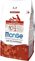 Корм для собак Monge Speciality Puppy&Junior All Breeds Lamb&Rice (2.5кг) -