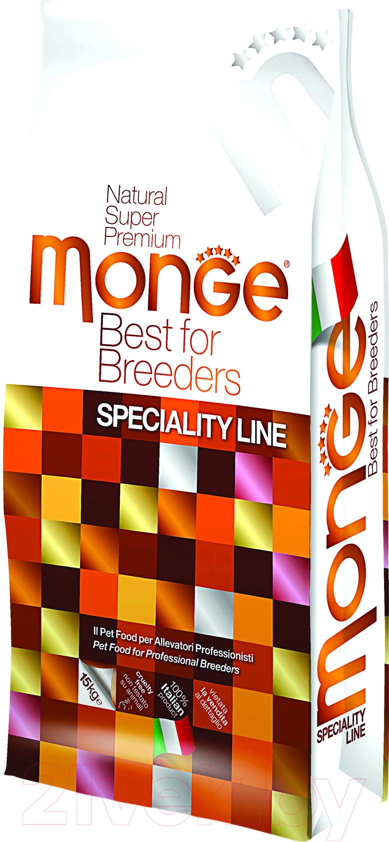 Купить Корм для собак Monge, Speciality Puppy&Junior All Breeds Lamb&Rice (15кг), Италия