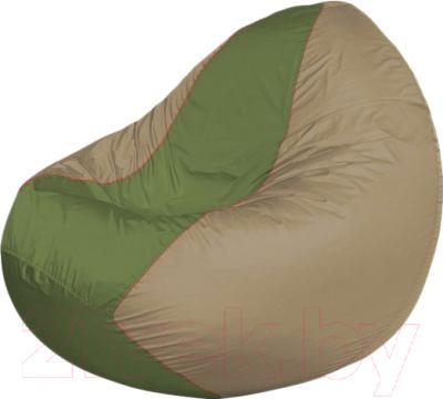 Бескаркасное кресло Flagman Classic К2.1-214 (оливковый/темно-бежевый)
