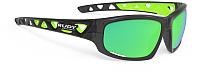 Очки солнцезащитные Rudy Project Airgrip / SP434195-0000 (Crystal Graphite/Multilaser Green) -