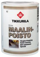 Средство для очистки после ремонта Tikkurila Маалинпойсто для удаления краски (1л) -