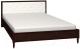 Полуторная кровать Глазов Montpellier 3 140x200 (орех шоколадный) -
