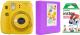 Фотоаппарат с мгновенной печатью Fujifilm Instax Mini 9 с пленкой Instax Mini 10шт + фотоальбом (желтый) -