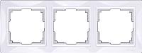 Рамка для выключателя Werkel Basic WL03-Frame-03 (белый) -