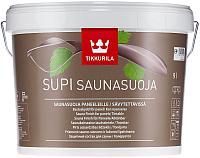 Защитно-декоративный состав Tikkurila Супи Саунасуоя (9л) -