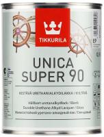 Лак Tikkurila Уника Супер (900мл, высокоглянцевый) -