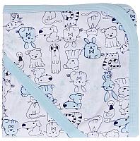 Пеленка-уголок для купания Alis Мальчик (90x90, интерлок) -