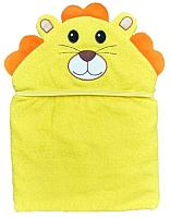Полотенце с капюшоном Alis Цветная коллекция. Лев (75x110, махра) -