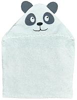 Полотенце с капюшоном Alis Цветная коллекция. Панда (75x110, махра) -