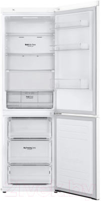 Холодильник с морозильником LG GA-B459MQQZ