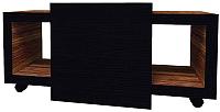 Журнальный столик Глазов Hyper 2 (венге/палисандр темный) -