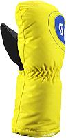 Варежки горнолыжные Scott Ultimate Tot / 2444880005 (S/006, желтый) -