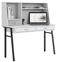 Письменный стол Polini Kids Aviv 1455 (белый/серый) -