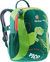 Детский рюкзак Deuter Pico / 36043 2234 (Alpinegreen/Kiwi) -