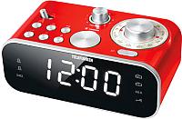 Радиочасы Telefunken TF-1593 (красный/белый) -