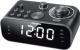 Радиочасы Telefunken TF-1593 (черный/белый) -