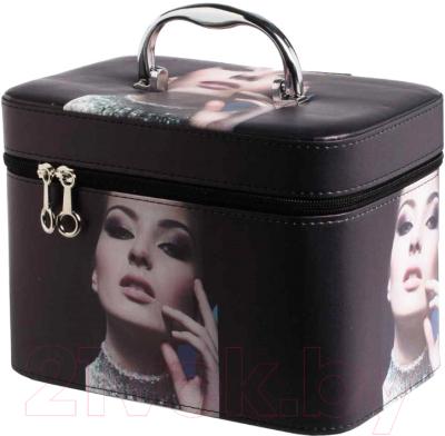 Кейс для косметики MONAMI CX7514-2 (черный)