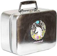 Кейс для косметики MONAMI CX7518-2 (серебристый) -