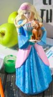 Статуэтка Нашы майстры Принцесса с котом 2013 (декорированная) -