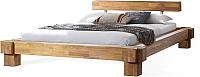 Каркас кровати Stanles Виктория 160x200 (дуб с воском) -