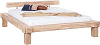 Каркас кровати Stanles Виктория 160x200 (отбеленный дуб) -