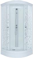 Душевая кабина Triton Стандарт А Мозаика с душевым набором ДН4 90x90 -