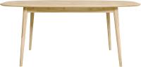 Обеденный стол Stanles Сканди 2.1 (отбеленный дуб) -