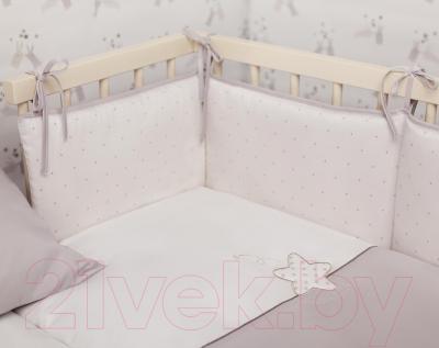 Комплект постельный в кроватку Perina Little Star Mini / ЛСМ4-01.2